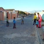 spelende kinderen in khayelitsha